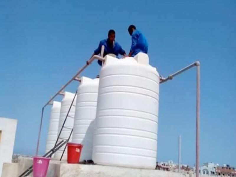فوائد وضع الكلور في خزان الماء